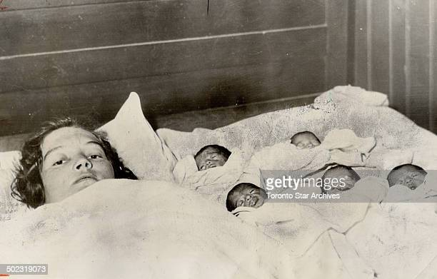 The biggest story of the Thirties was the birth of the Dionne quintuplets in 1934 The Star managed to obtain exclusive Canadian rights to pictures...
