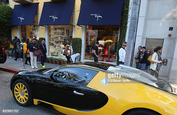 The Bijan Store on January 28 2017 in Beverly Hills California