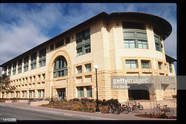 The Bill Gates building stands on the campus of Stanford University March 15 1997 in San Francisco CA Since the beginning of the 1990s San Francisco...