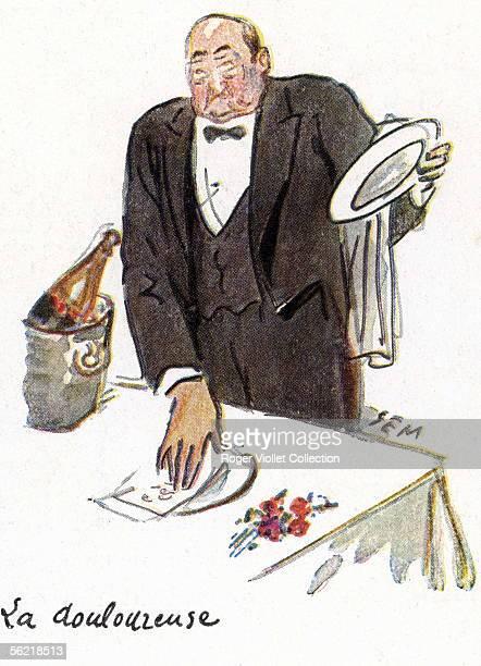 'The Bill' Watercolours by Sem 1928 ADAGP