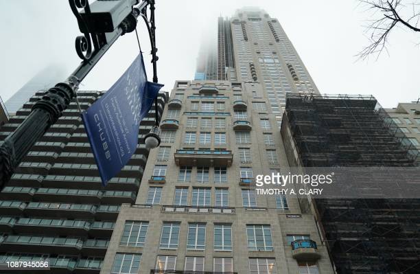 The Billionaire's Bunker at 220 Central Park South is pictured on January 24 in New York Hedge fund billionaire Ken Griffin has completed the...
