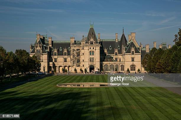 The Biltmore Estate the largest privately owned home in America built by George Vanderbilt between 1889 and 1895 is one of area's major tourist draws...