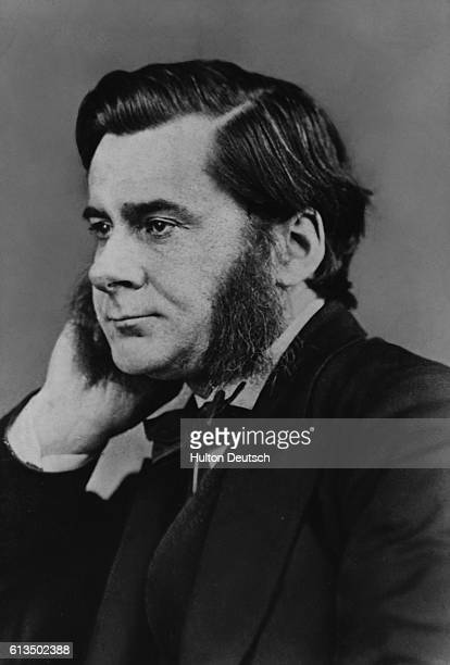 The biologist Thomas Henry Huxley He was an influencial publicist of the evolutionary theories of Charles Darwin