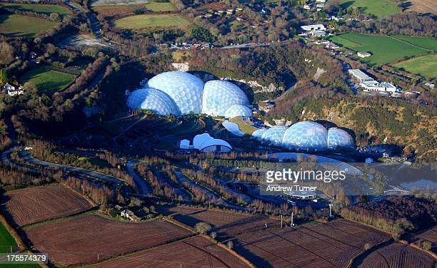 CONTENT] The biomes of the Eden Project captured at 2000 feet from a Cessna light aircraft A unique aerial perspective of this iconic landmark