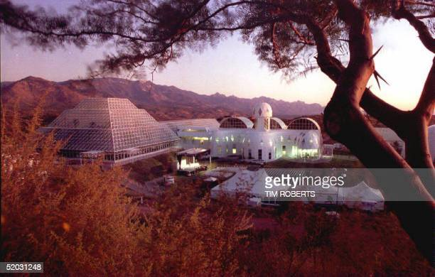 ORACLE USA SEPTEMBER 25 The Biosphere 2 research facility sits nestled in the foothills of the Catalina Mountains north of Tuscon Arizona 25...