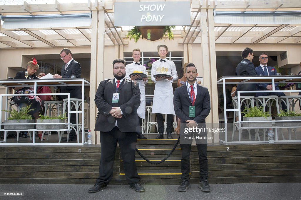 The color of Melbourne Cup Day : News Photo
