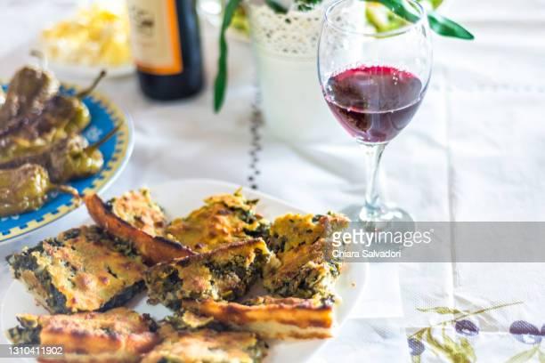 the birek, a traditional albanian food - ルポルタージュ ストックフォトと画像