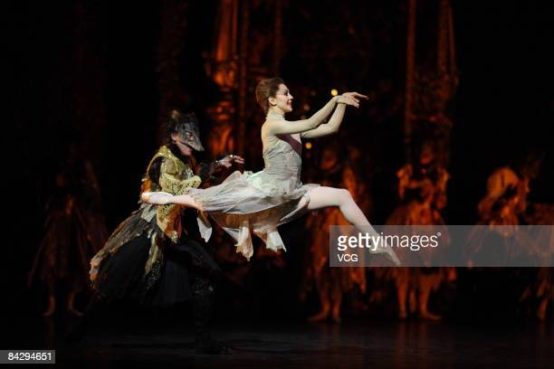 The Birmingham Royal Ballet perform Beauty and the Beast at the National Centre For Performing Arts on January 13 2009 in Beijing China Birmingham...