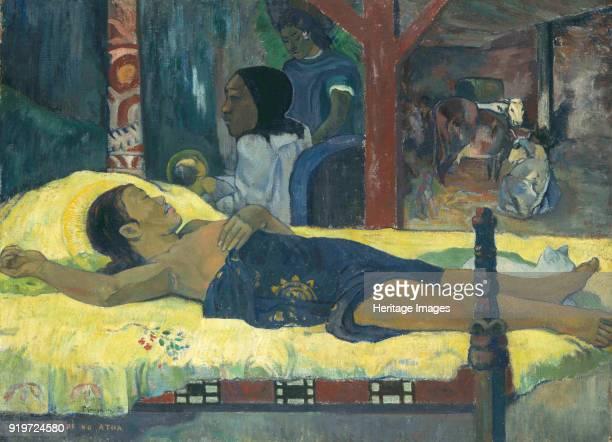 The Birth , 1896. Found in the Collection of Neue Pinakothek, Munich.