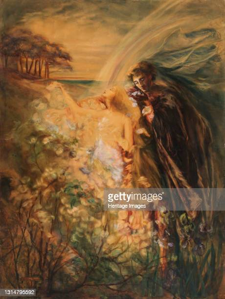 The Birth of Fand, late 19th-early 20th century. Artist Da Loria Norman.