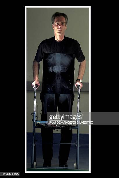 The birth of machines that think in Vandoeuvre Les Nancy France in January 2008 Marc Merger the first paraplegic who walks thanks to the science The...
