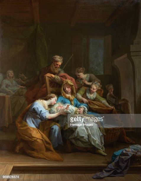 The Birth of the Virgin 1744 Found in the Collection of Petit Palais Musée des BeauxArts de la Ville de Paris