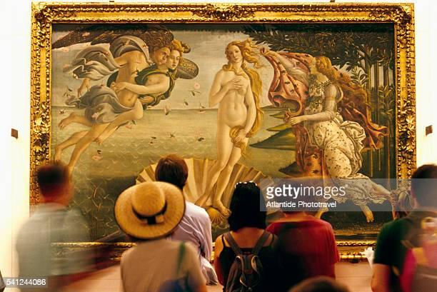 The Birth of Venus at Galleria degli Uffizi