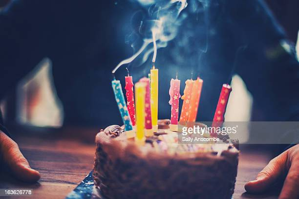 the birthday cake - birthday cake stock pictures, royalty-free photos & images