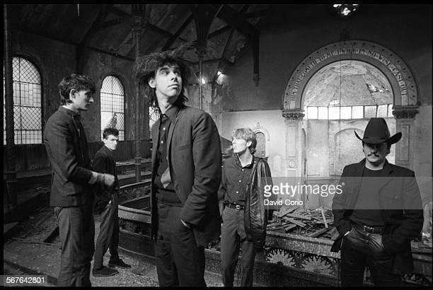 The Birthday party at disused church in Kilburn London 22 October 1981