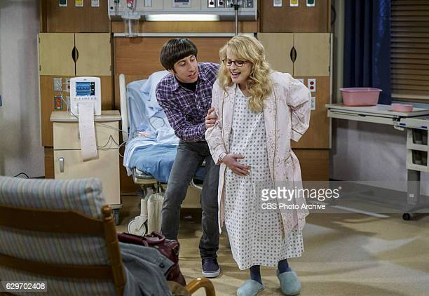 'The Birthday Synchronicity' Pictured Howard Wolowitz and Bernadette Howard and Bernadette welcome their new baby and Sheldon and Amy celebrate Amy's...
