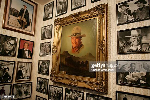 The birthplace of American screen legend John Wayne October 31st 2007 in Winterset Iowa The house has been turned into a thriving museum attracting...