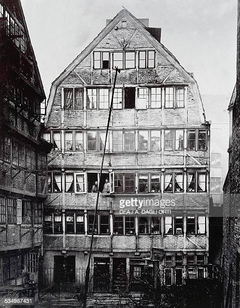 The birthplace of the German composer Johannes Brahms in Hamburg Germany Vienna Historisches Museum Der Stadt Wien