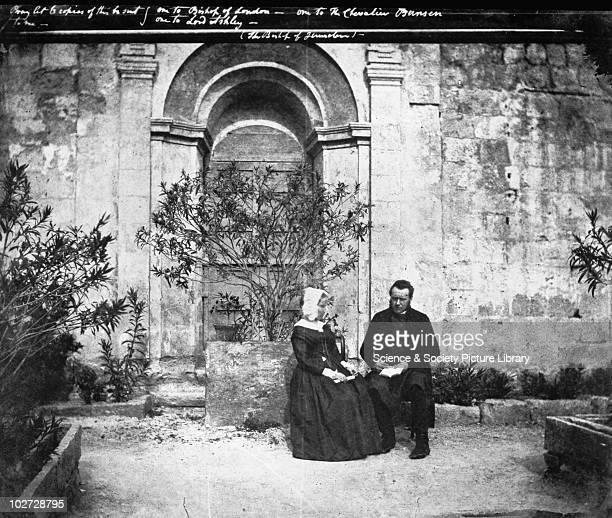 The Bishop of Jerusalem Sicily Italy 1846 The Bishop of Jerusalem Sicily Italy 1846 Calotype by Reverend George Wilson Bridges Bridges went to Sicily...