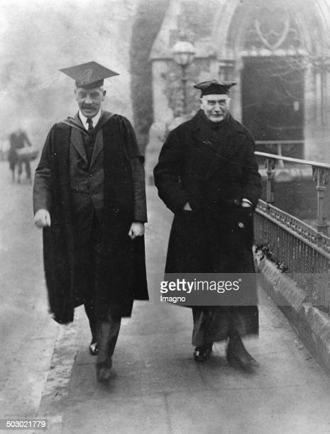 The Bishop of London Arthur WinningtonIngram on the way to a Confirmation of Harrow School boys 1st December 1930 Photograph