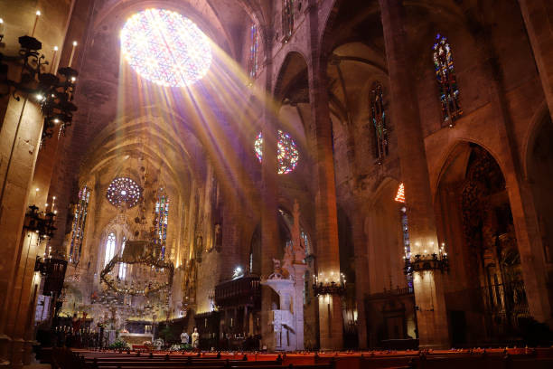 ESP: Easter Mass In Palma De Mallorca
