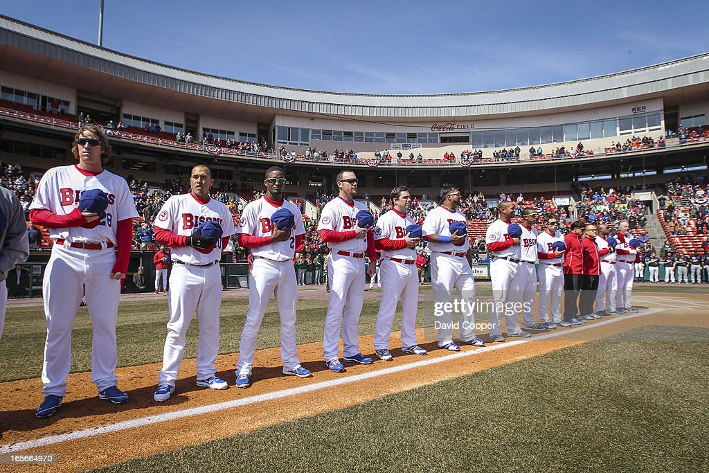 Opening Day For Blue Jays AAA Farm Team The Buffalo Bisons : News Photo