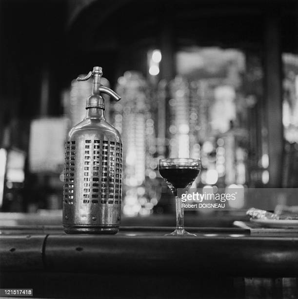 The Bistros Cocktail And Fizzy Water Bottle 1956