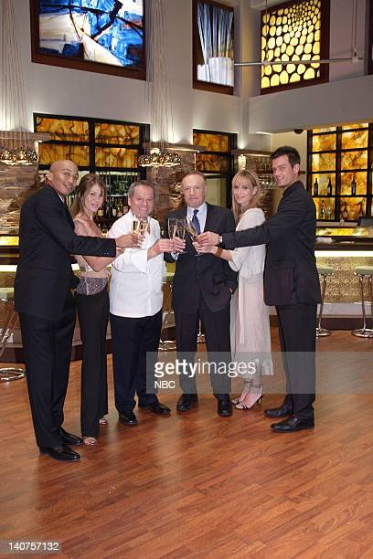 LAS VEGAS The Bitch is Back Episode 13 Pictured James Lesure as Mike Cannon Nikki Cox as Mary Connell Wolfgang Puck as Himself James Caan as Ed...