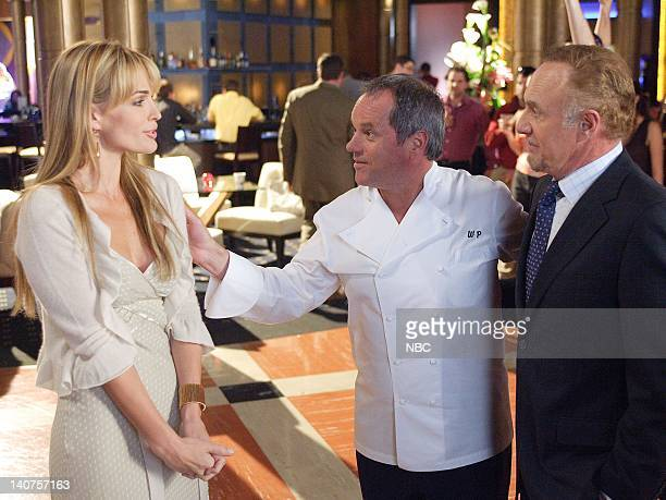 LAS VEGAS The Bitch is Back Episode 13 Pictured Molly Sims as Delinda Deline Wolfgang Puck as Himself James Caan as Ed Deline Photo By Paul...