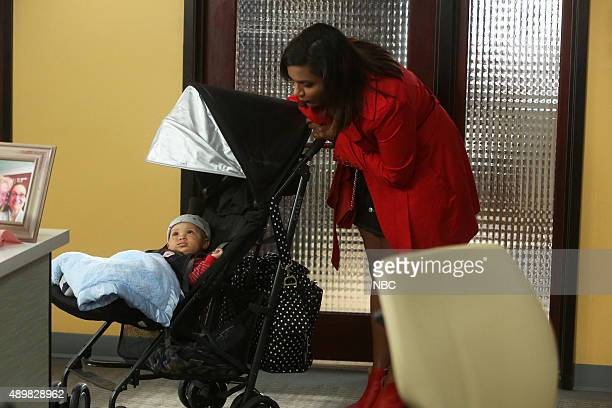 PROJECT 'The Bitch Is Back' Episode 404 Pictured Jett/Isa as Baby Leo Mindy Kaling as Mindy