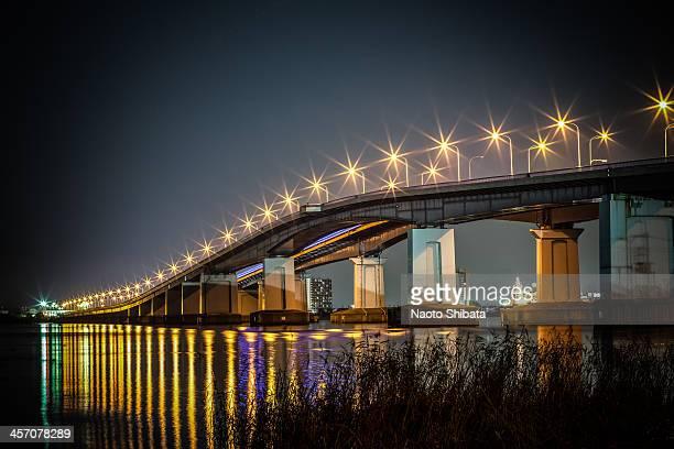 The 'Biwako Ohashi' toll bridge