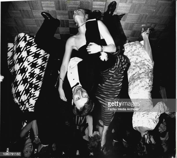The Black and White Ball at the Sherton WentworthLet's party Adrienne Arnott and Brett Penfold September 3 1994