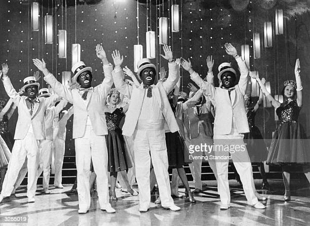 The 'Black and White Minstrel Show' a musical TV series
