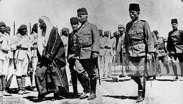 The black and white pictures Turkish General Staff has released on June 27 2014 show YemenHejaz front known as South Arabia campaign during the World...
