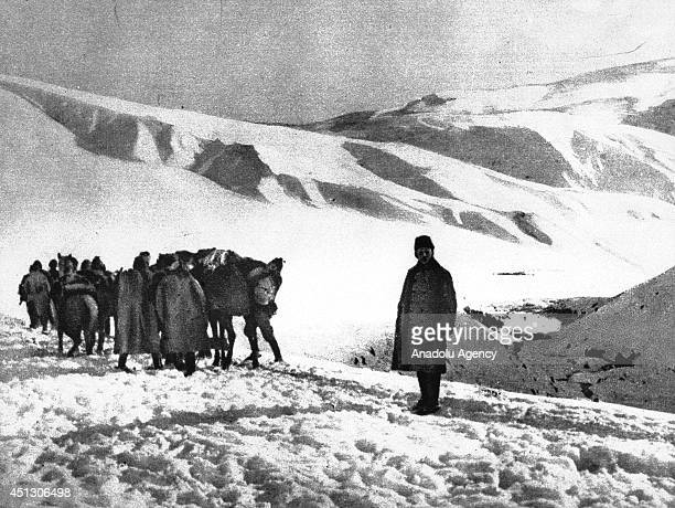 The black and white pictures Turkish General Staff has released on June 27 2014 show the Caucasus front during the World War I The pictures released...