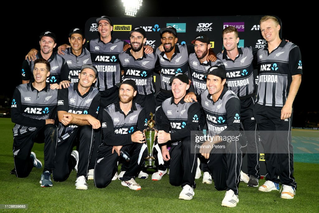 New Zealand v India - International T20 Game 3 : Nieuwsfoto's
