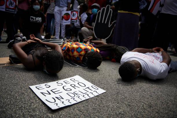 ESP: Black Lives Matter In Spain