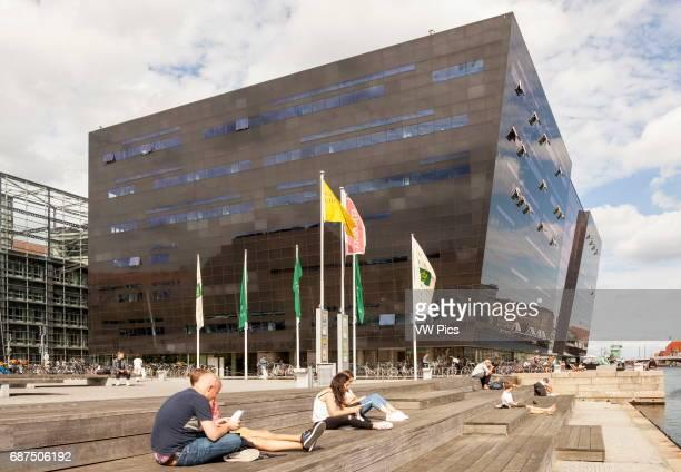 The Black Diamond Library Slotsholmen Copenhagen Denmark