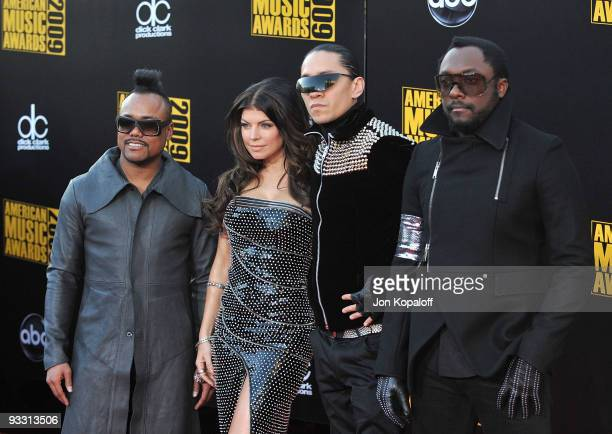 The Black Eyed Peas at the 2009 American Music Awards at Nokia Theatre LA Live on November 22 2009 in Los Angeles California