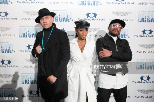 The Black Eyed Peas attend Big Game Big Give Superbowl Party at private location on February 02 2019 in Atlanta Georgia