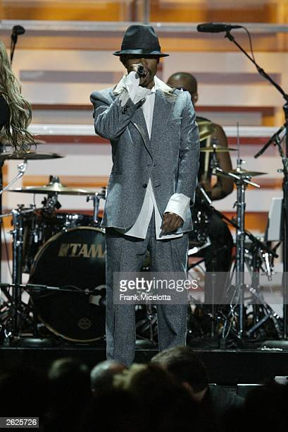 The Black Eyed Peas perform onstage during the 2003 GQ 'Men of the Year' Awards at The Regent Hotel on October 21 2003 in New York City The GQ 'Men...