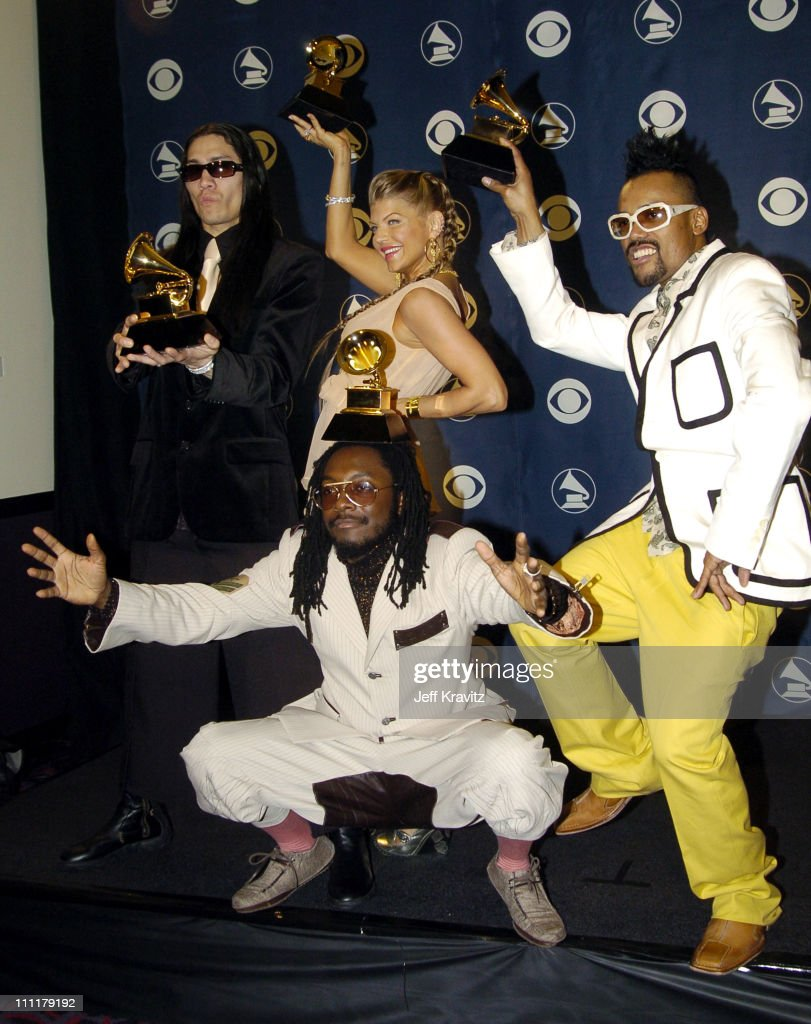 The Black Eyed Peas, winner of Best Rap Performance By A Duo Or Group for 'Let's Get It Started'