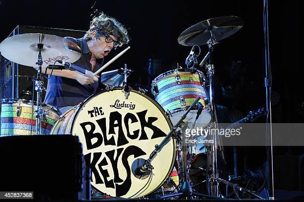 The Black Keys performs live at Les Eurockeennes de Belfort, Music Festival on June 06, 2014 in Belfort, France.