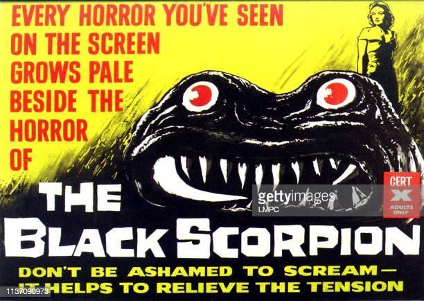 Mara Corday British poster art 1957