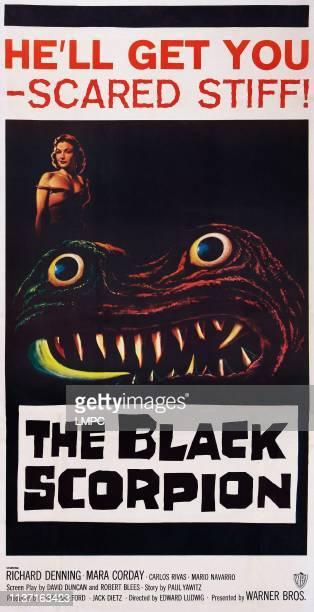 The Black Scorpion poster US poster art Mara Corday 1957