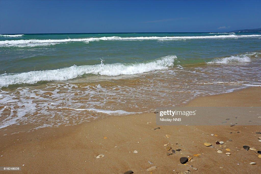 the black sea Krasnodar region : Stock Photo