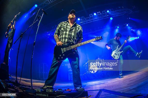 The Black Stone Cherry in concert Trezzo sull'Adda Italy 15th February 2016