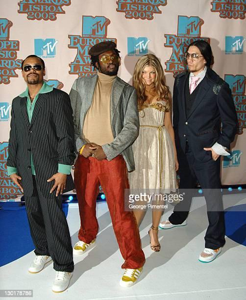 The Blackeye Peas during 2005 MTV European Awards Lisbon Arrivals at Atlantic Pavilion in Lisbon Portugal