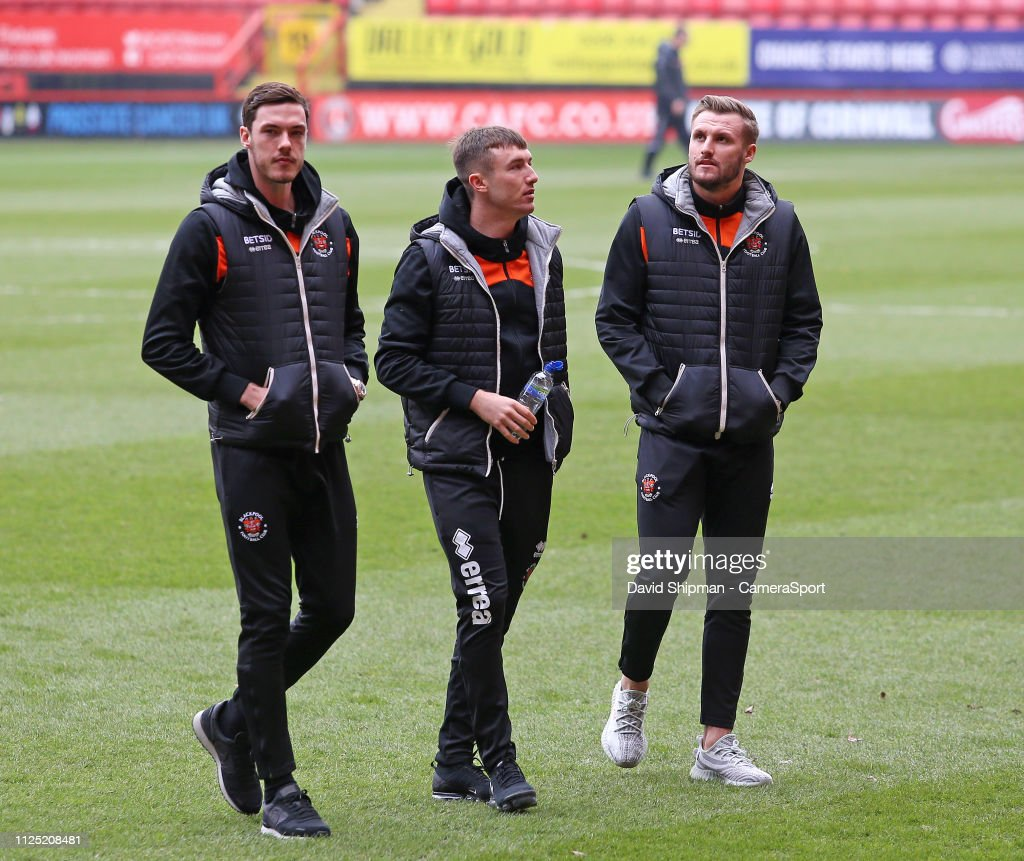 GBR: Charlton Athletic v Blackpool - Sky Bet League One
