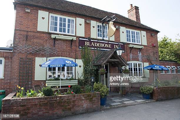 The 'Bladebone Inn' In The Village Of Bucklebury Berkshire United Kingdom The Home Village Of Kate Middleton'S Parents Michael And Carole Middleton